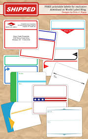 Printable Labels Free Designed Address And Shipping Label Templates