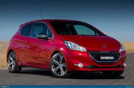 peugeot 208 gti blue ausmotive com peugeot 208 gti u2013 australian pricing u0026 specs