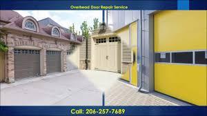 Overhead Garage Door Services by Garage Door Repair Tacoma 206 257 7689 Garage Door Service Tacoma