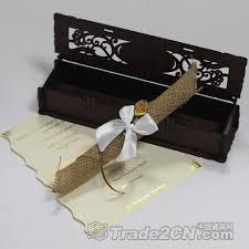 Box Wedding Invitations Wood Crafts Supply Wooden Box Wedding Invitation Mx Wn048 Leading