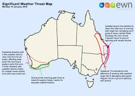 Cold Front Map National Significant Weather Threat Map