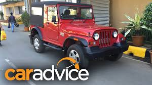 thar price 2016 mahindra thar quick drive review youtube