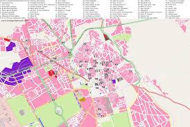 Marrakech Map World by City Maps Marrakech