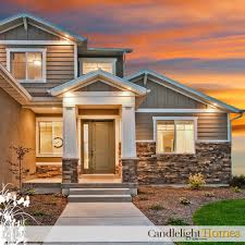 candlelight homes utah utah home builder stone pillar column