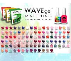 wavegel matching match color gel duo set with same color polish