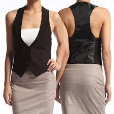 womens tuxedo vest ebay
