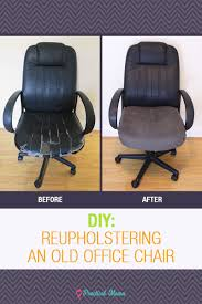 Diy Desk Chair Diy Reupholstering The Office Chair