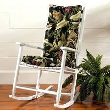 Wooden Rocking Chair Cushions For Nursery Rocking Chair Cushion Sets Striped Fabrics Rocking Chair Cushion