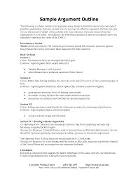 download example of a persuasive essay outline