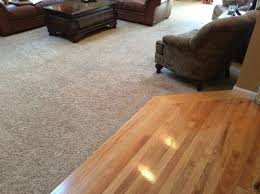 replacing carpet hardwood floor color