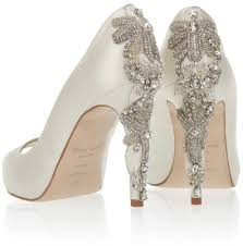 wedding shoes embellished wedding shoes sparkling high heels for winter weddings inside