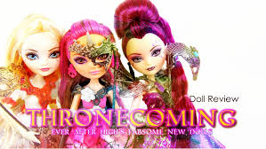 after high dolls names doll review after high thronecoming
