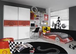 chambre garcon complete cuisine lit voiture lit camion de pompier ou lit caravane secret