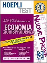 test d ingresso economia aziendale it hoepli test prove simulate economia giurisprudenza