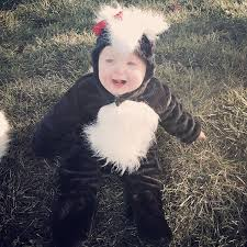 Baby Skunk Costume Halloween Parents Dress Adorable Twin Babies Skunk Costumes