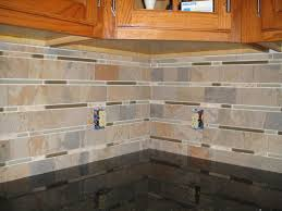 Tumbled Slate Backsplash by Kitchen Backsplash Tumbled Stone Backsplash Mosaic Backsplash