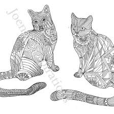 tabby cat coloring pages 53 best