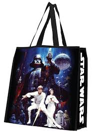 wars gift bags reusable polymer gift bags thinkgeek