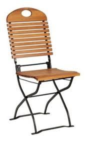 chaises pliables lot de 2 chaises pliables en acacia foresta