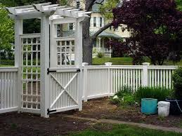 Arbor Ideas Backyard 185 Best Decks And Fences Images On Pinterest Fence Ideas