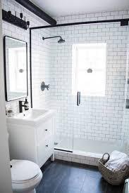 Subway Tile In Bathroom Ideas Best 25 White Subway Tile Bathroom Ideas On Pinterest White