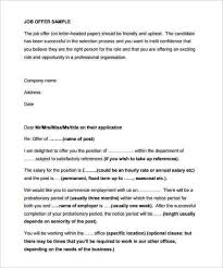 formal job offer letter hitecauto us