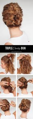 step bu step coil hairstyles easy hairstyles for medium curly hair step by step easy