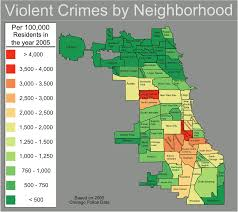 Map Chicago Chicago Violent Crime Map U2022 Mapsof Net