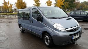 opel minivan vivaro 2012m 8 vietų mikroautobuso nuoma vilniuje