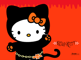 pastel halloween background black hello kitty wallpapers group 55
