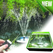 Floating Solar Pond Lights - solar fountain solar pond pump powerbee ltd
