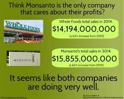 Whole Foods Meme - whole foods vs monsanto sales