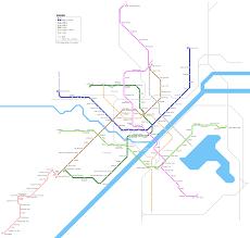 Beijing Metro Map by Urbanrail Net U003e Asia U003e China U003e Wuhan Metro