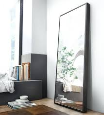 Mirror Wall In Bathroom Wall Mirrors Floor Mirror Wall Mount Floor To Ceiling Mirrors In