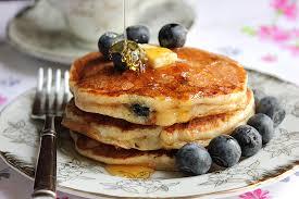 yogurt blueberry pancake soufflé low calorie munaty cooking