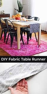make your own table runner make your own table runner craft night pinterest modern table