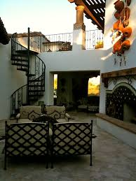 Mexican Patio Decor Mexican Hacienda Architecture Casas Mexicanas Pinterest