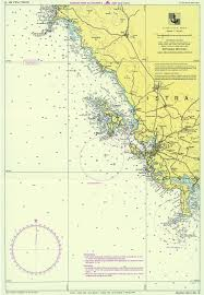 Map Of Portofino Italy by Croatian Nautical Maps Vakance Charter