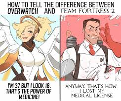 Funny Tf2 Memes - overwatch vs team fortress 2 imgur