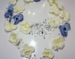 Blue Flower Vine - 31 bride flower crown vine flower crown bride flower crown