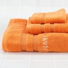 fresh start bath towels orange the land of nod