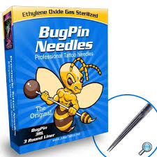 bugpin needles box of 50 wholesale tattoo supplies professional