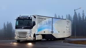 trailer volvo volvo truck tests a hybrid vehicle for long haul
