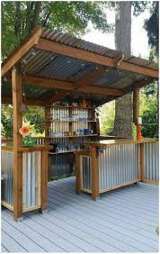 backyards beautiful 25 best ideas about diy outdoor bar on