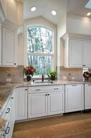 Kitchen Sink Curtain Ideas Valance Elegant Kitchen Sink Window Designs Brown Floral Fabric