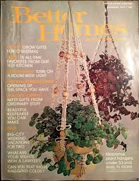 found this issue of better homes and gardens magazine from 1975