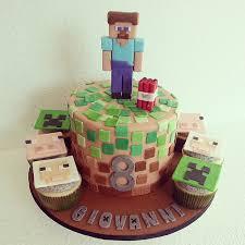 minecraft cake this weekend cakes cakestagram cookiesncream
