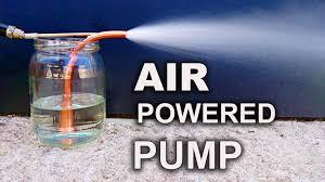 Air Powered Water Pump Make A Simple U0026 Powerful Pump The Venturi Pump Youtube
