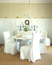White Slipcover Dining Chair Dining Chair Slip Covers Dining Chair Slipcovers Chairs In