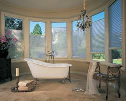 silhouettes bella interior designs bathroom window treatment